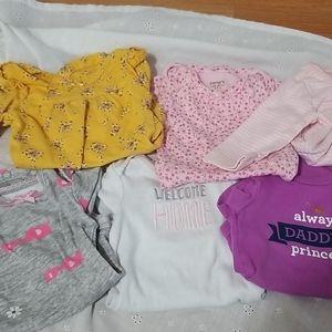 Newborn onesies bundle